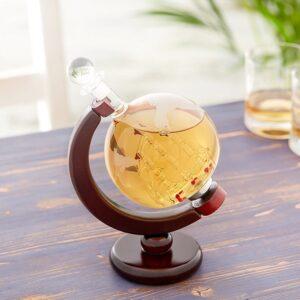 AMAVEL Whiskykaraffe Globus