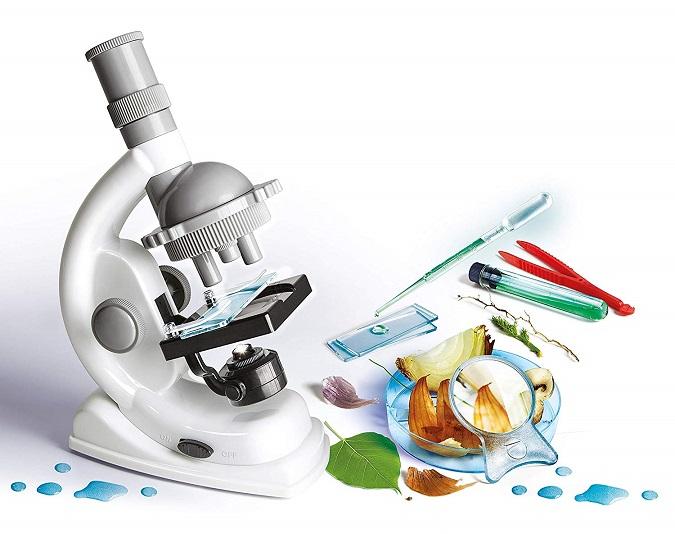 Clementoni Experimentierkasten - Natur unter dem Mikroskop