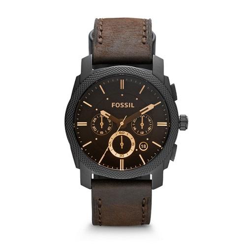 Fossil Herren Armbanduhr Machine