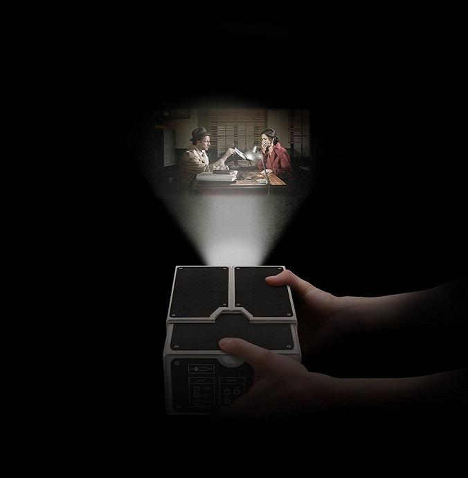 Smartphone Beamer Mini Videoprojektor