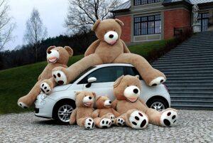 Teddybär groß XXL 260cm