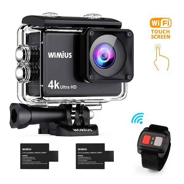 WiMiUS Action Cam 4K 16MP